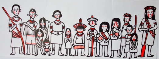 Jacina Meets the Tribe
