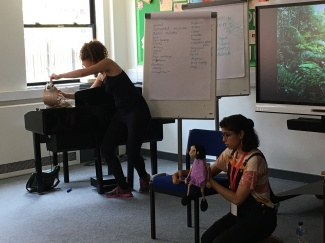 Puppetry at schools workshop